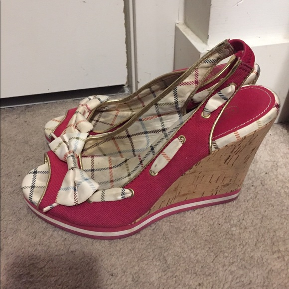 Coach Wedge heel shoes